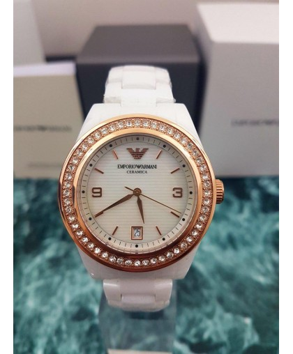 Emporio Armani AR1472 Womens Watch Ceramica