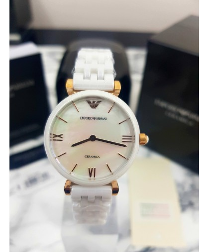 Emporio Armani AR1486 Womens Watch Ceramica
